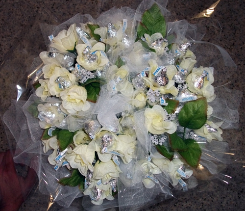 The Custom Bridal Candy Flower Bouquet For Rehersal And Brides Maids From Atlanta Candy Flowers