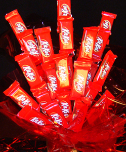 Kit Kat Candy Bouquets