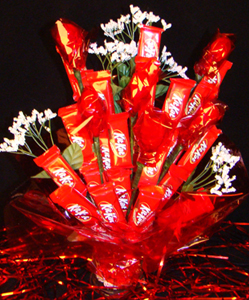 Love Candy Flowers Delivered in Atlanta Bouquets