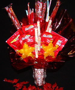 Sweet Tart Candy Bouquets